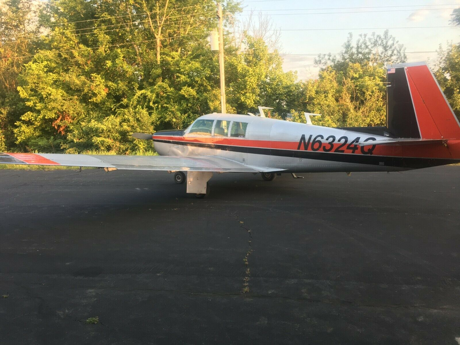 great shape 1967 Mooney Executive M20F aircraft