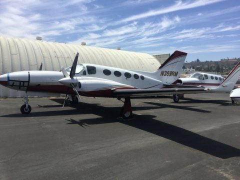Loaded 1976 Cessna 421c aircraft for sale