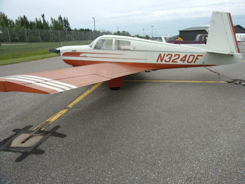 original paint 1967 Mooney M20E Super 21 Aircraft