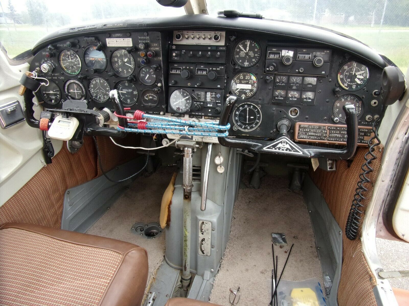original paint 1967 Mooney M20E Super 21 Aircraft