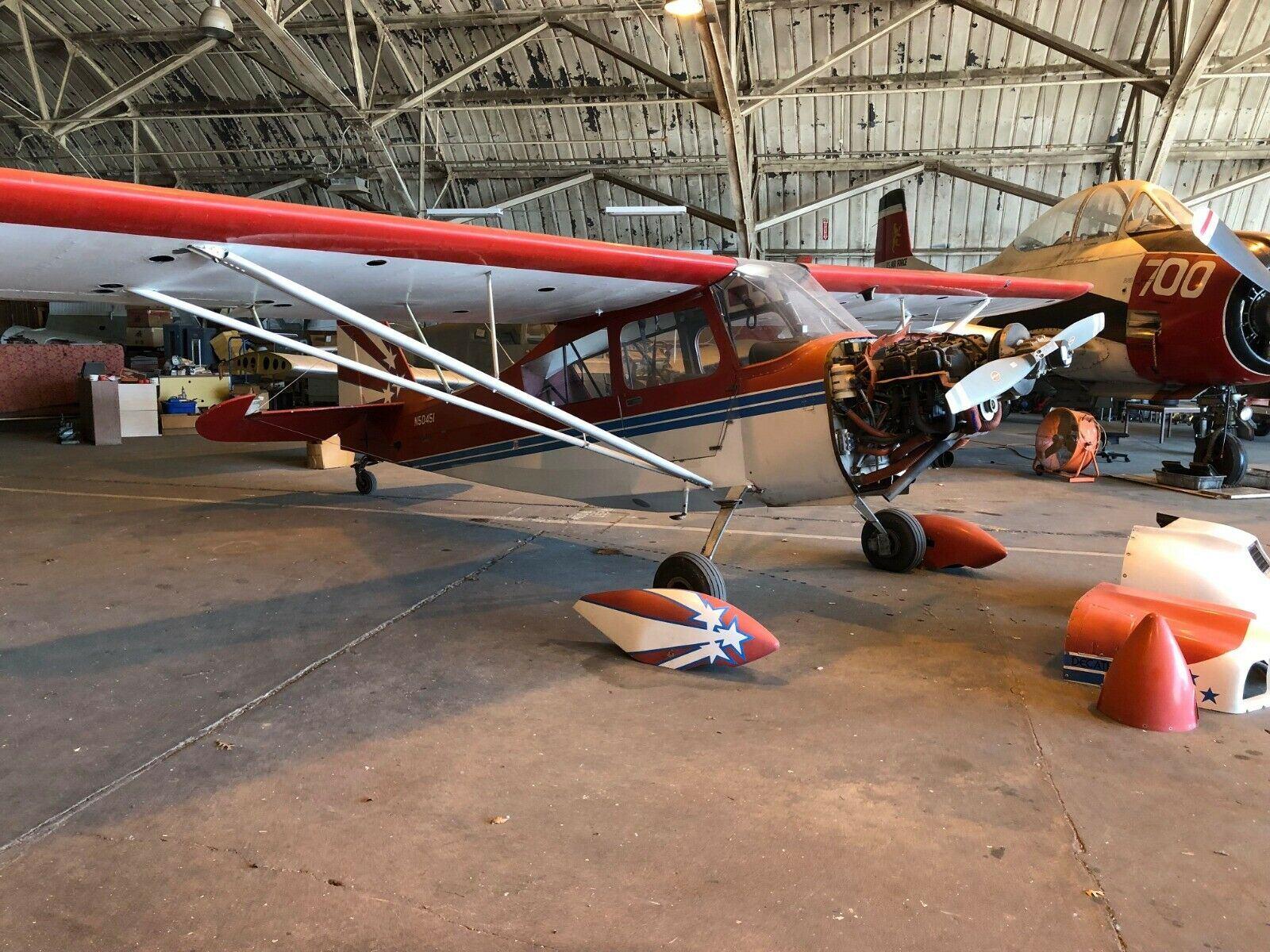 project 1979 Bellanca Decathlon aircraft for sale