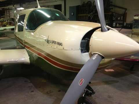 repaired 1974 Bellanca Super Viking aircraft for sale