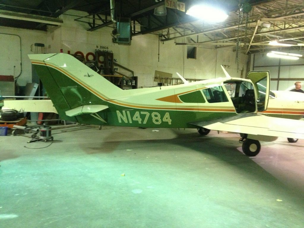 repaired 1974 Bellanca Super Viking aircraft