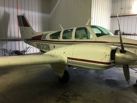 fast 1968 Beechcraft B55 Baron aircraft for sale