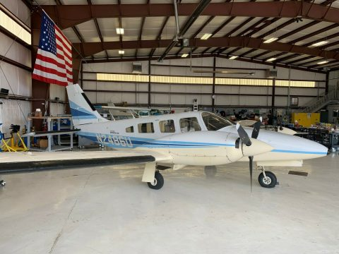 great shape 1979 Piper Seneca II aircraft for sale