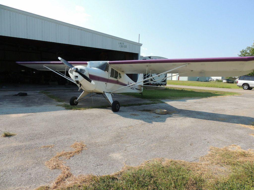 hangared 1946 Taylorcraft BC 12D aircraft