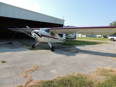 hangared 1946 Taylorcraft BC 12D aircraft for sale