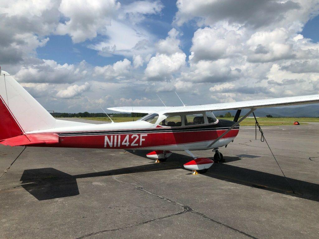 improved 1966 Cessna 172G Skyhawk aircraft