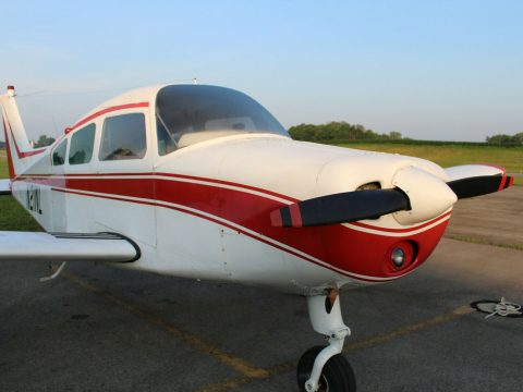 low time 1967 Beechcraft A23A Musketeer aircraft for sale