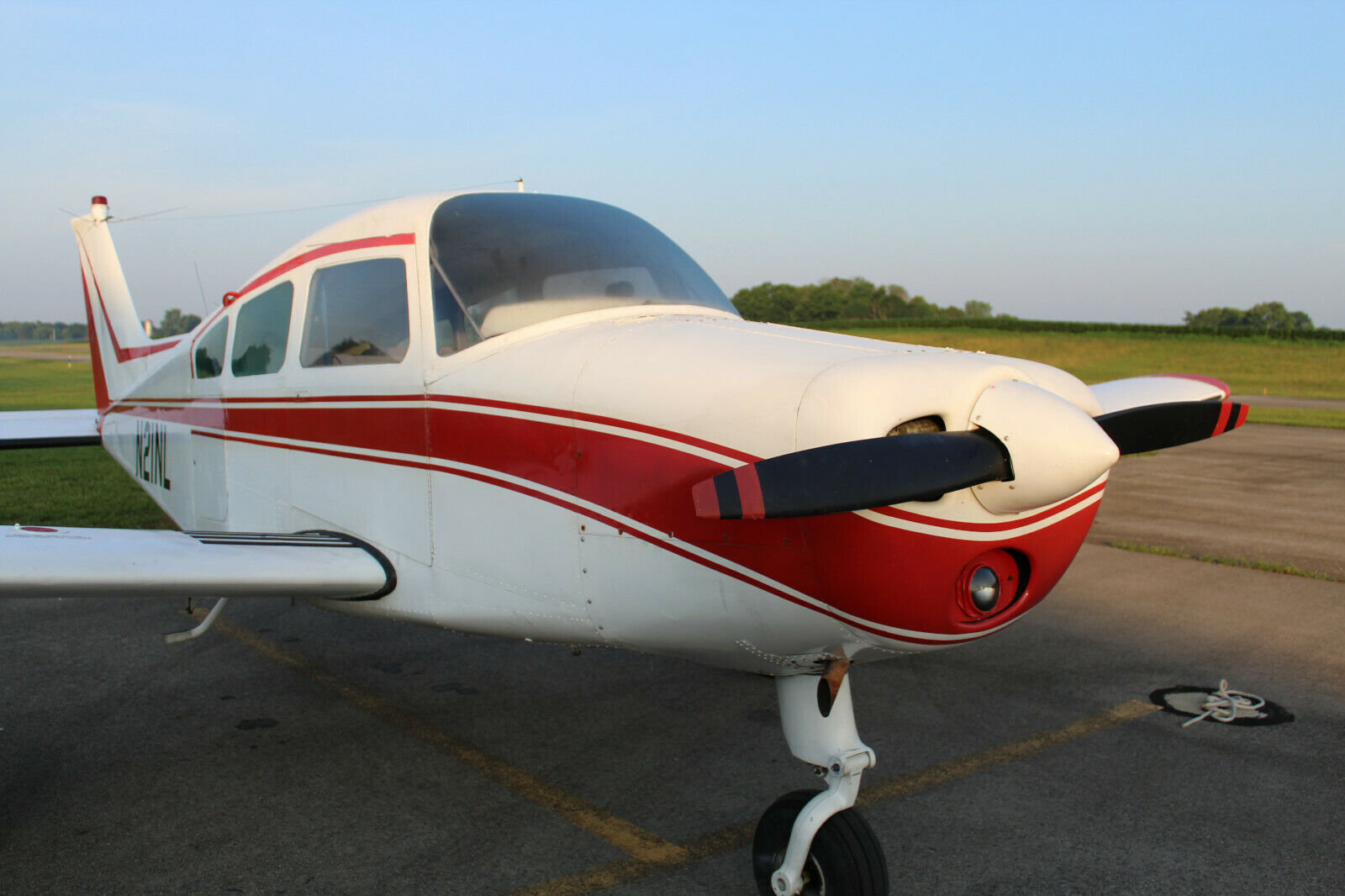 low time 1967 Beechcraft A23A Musketeer aircraft