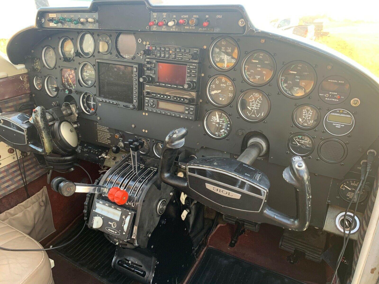 never damaged 1967 Cessna 310L aircraft