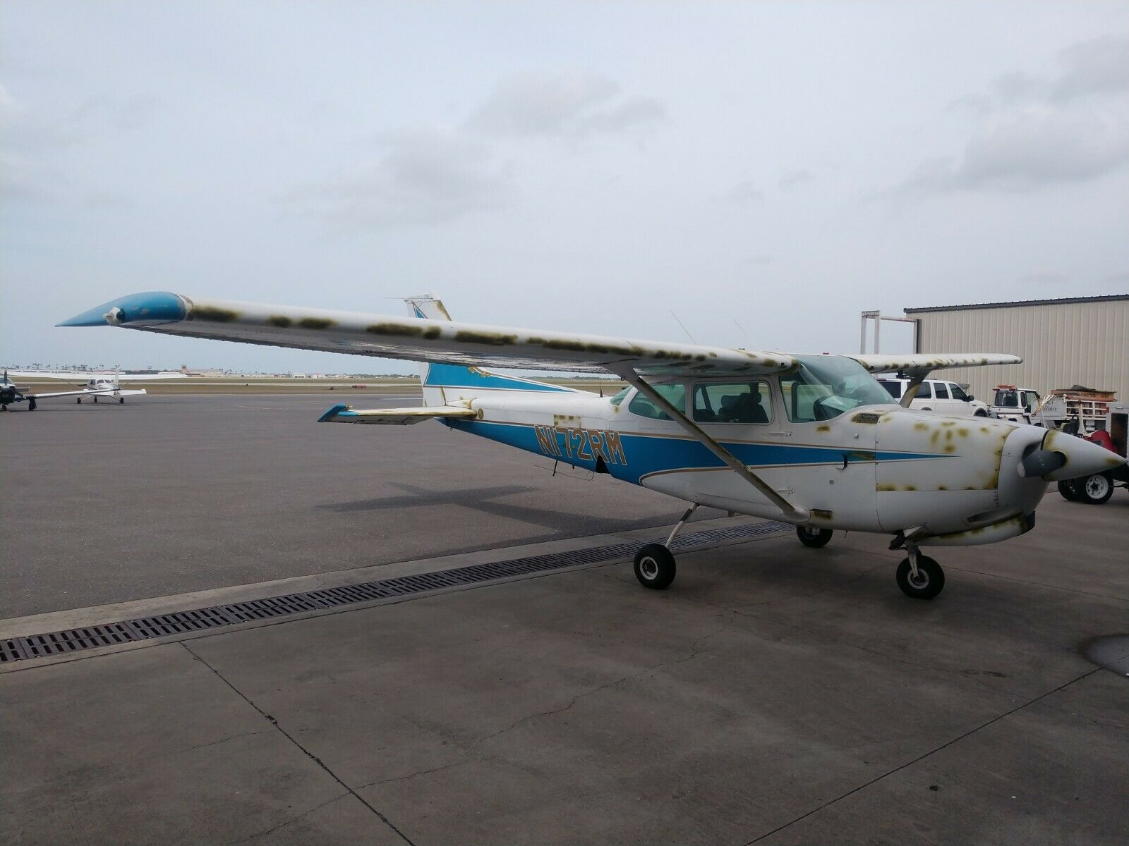 Project 1978 Cessna 172rg aircraft