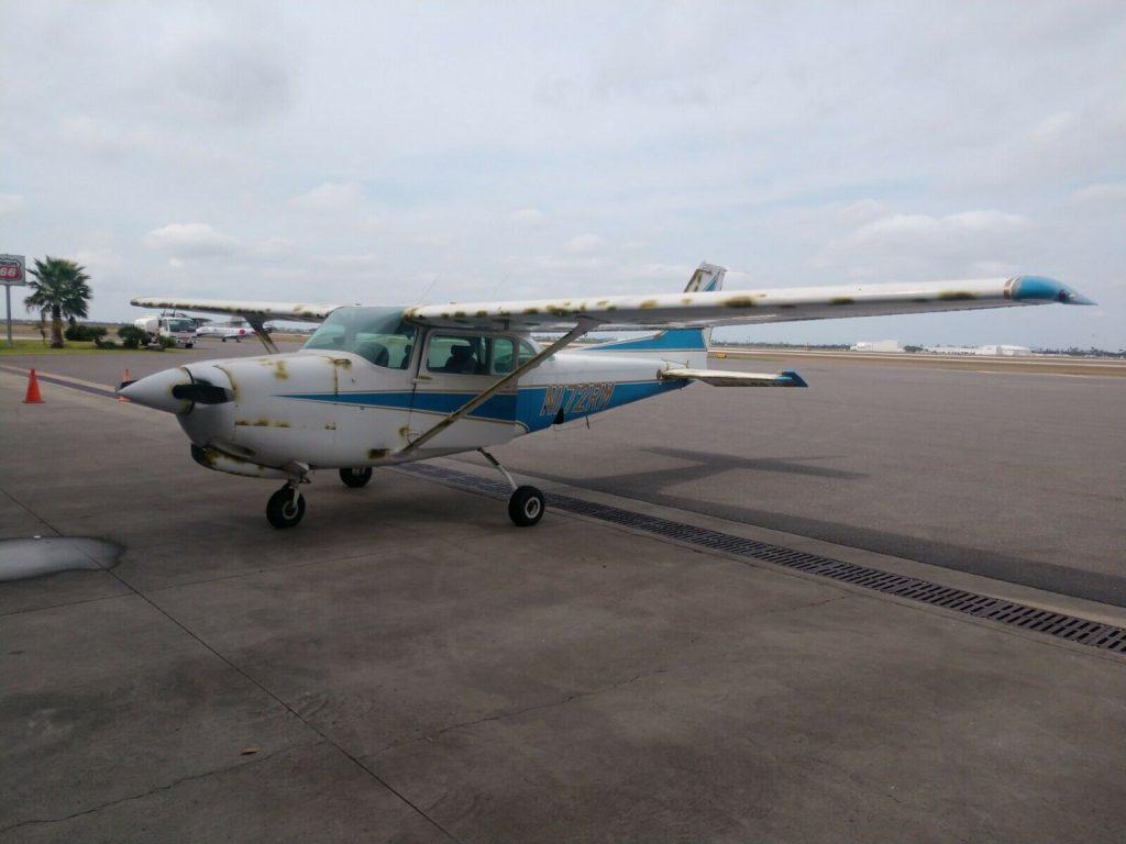 Project 1978 Cessna 172rg aircraft