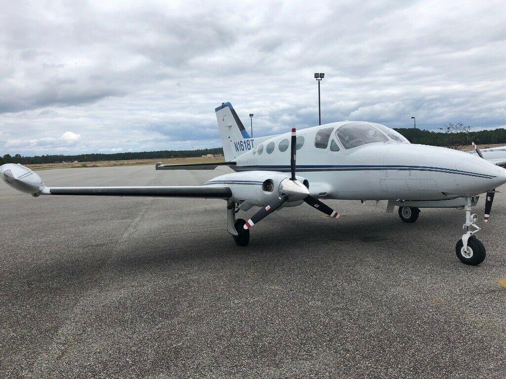 recently overhauled 1973 Cessna 414 aircraft