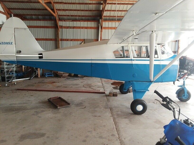 very clean 1960 Piper PA 22 Tri Pacer aircraft