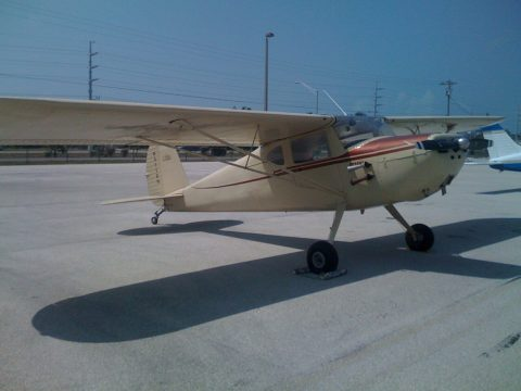vintage 1947 Cessna 140 aircraft for sale
