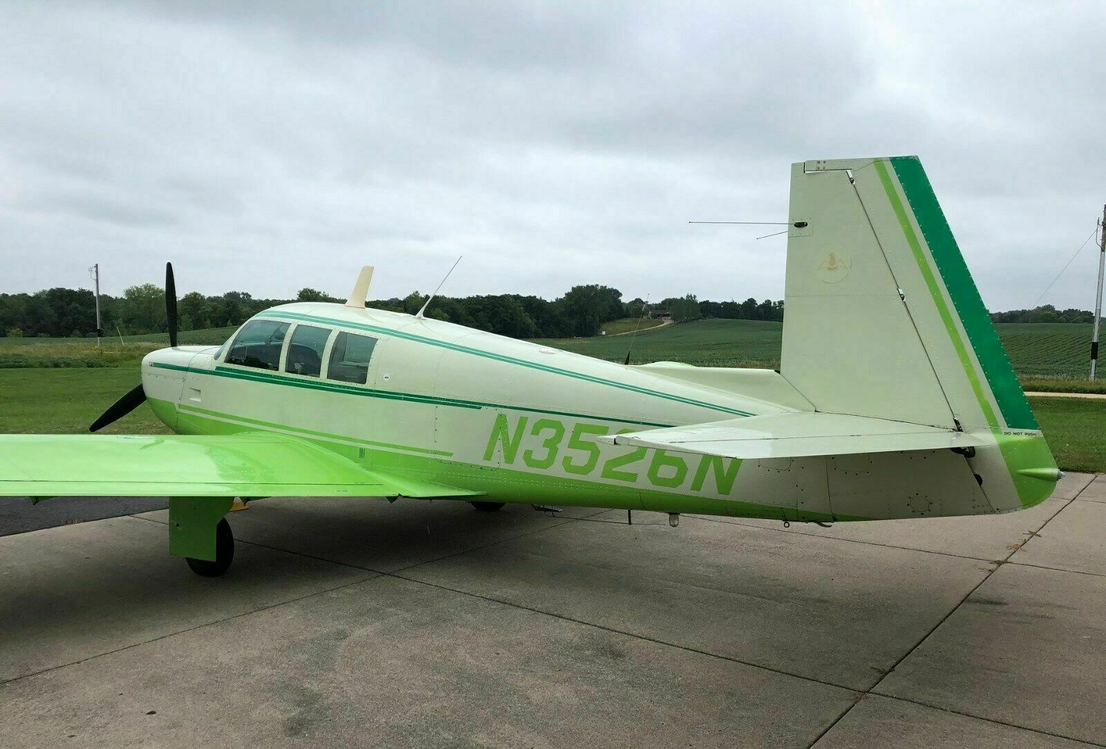 well serviced 1967 Mooney M20F Executive aircraft