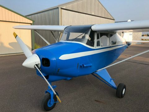clean 1960 Piper PA 22 Tri Pacer aircraft for sale