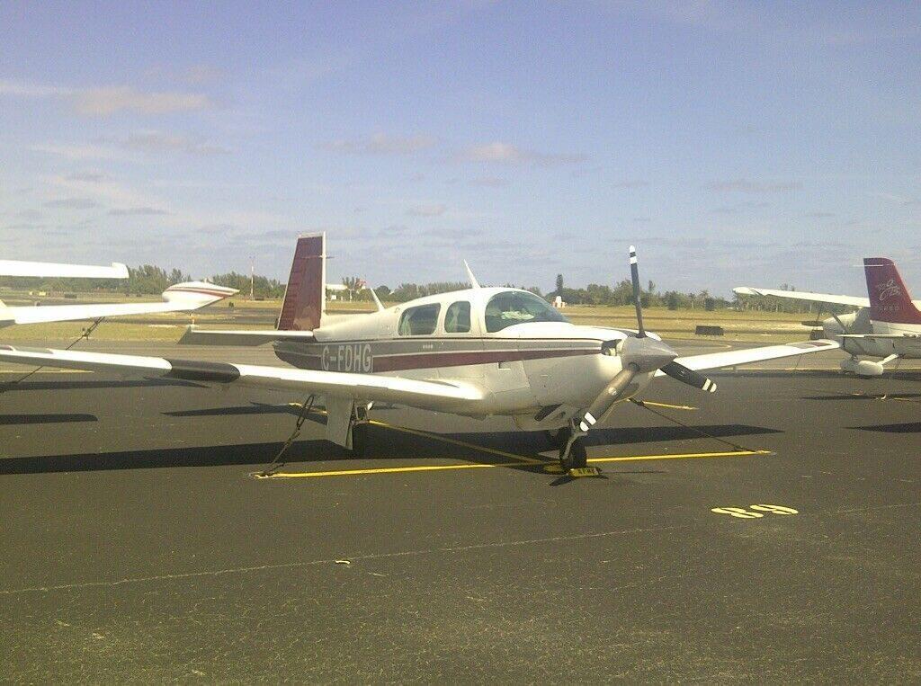 converted 1984 Mooney M 20K aircraft