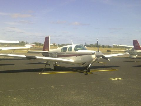 converted 1984 Mooney M 20K aircraft for sale