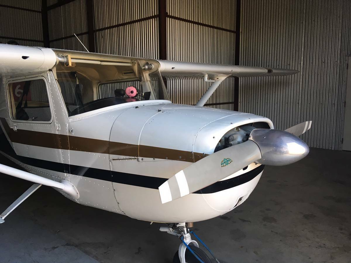 hangared 1965 Cessna 150F aircraft