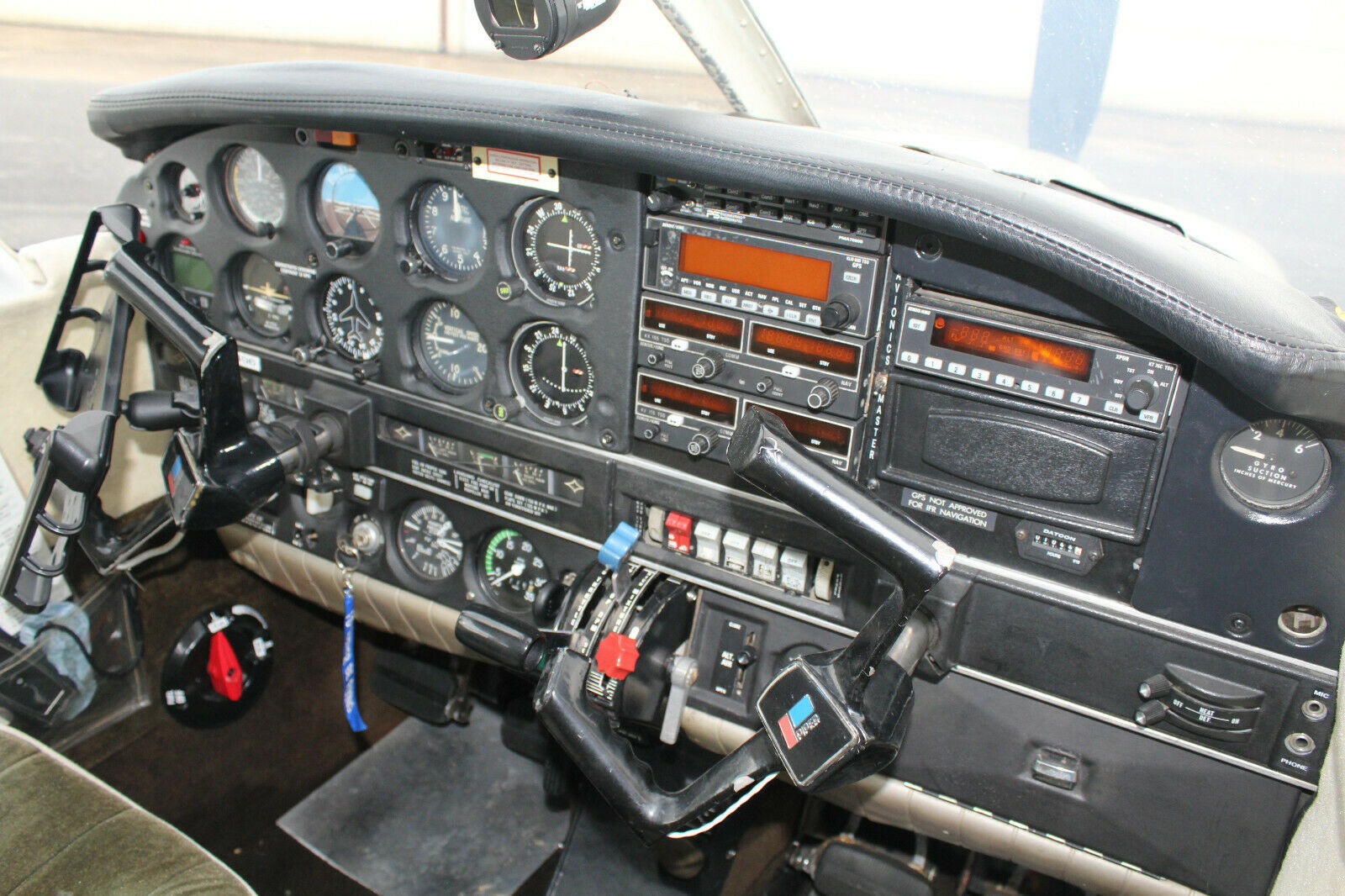 hangared 1974 Piper Arrow II Aircraft