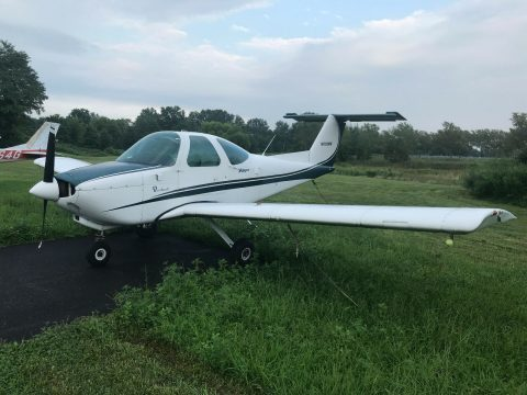 low time and serviced 1980 Beech 77 Skipper aircraft for sale
