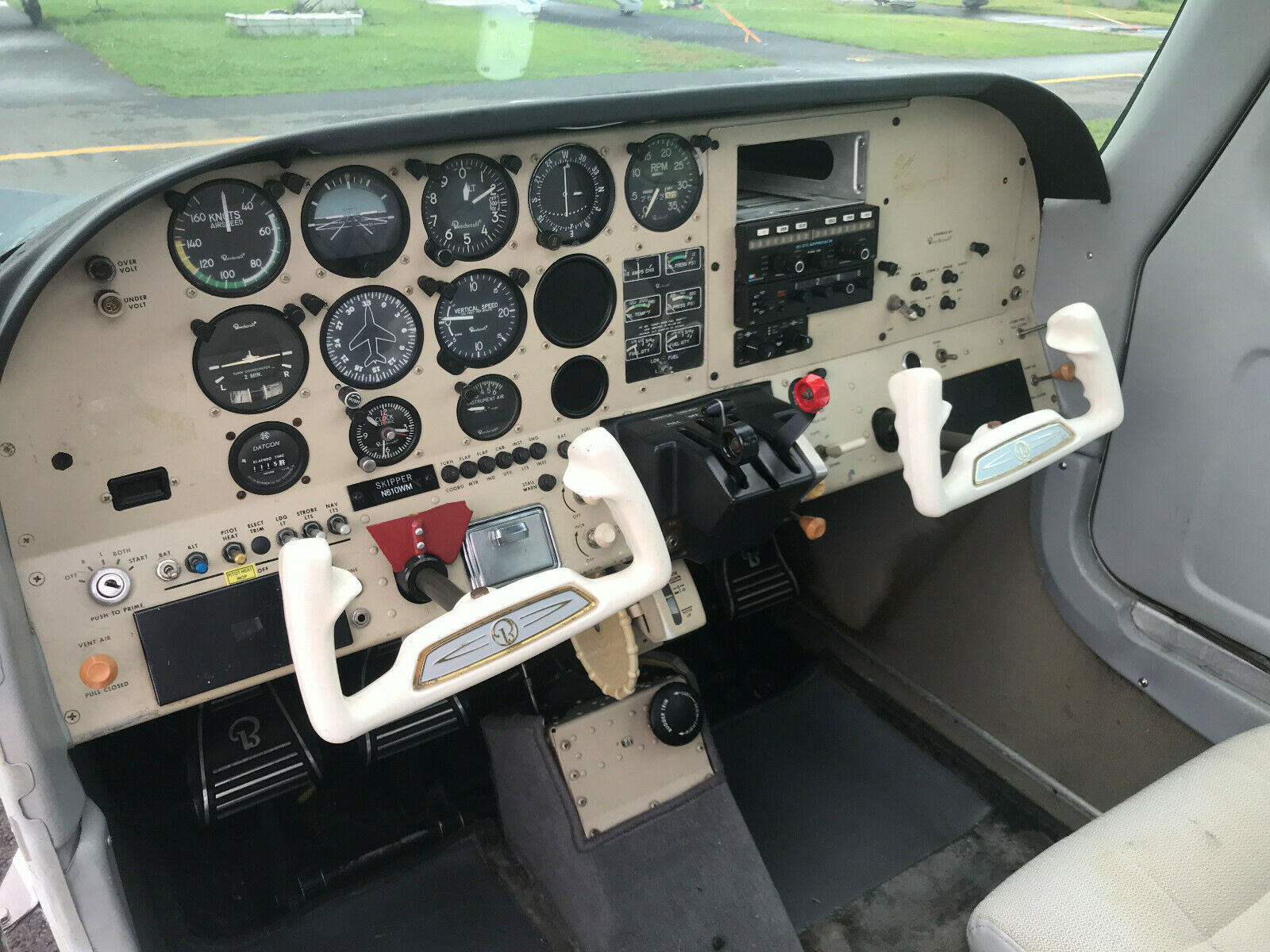 low time and serviced 1980 Beech 77 Skipper aircraft