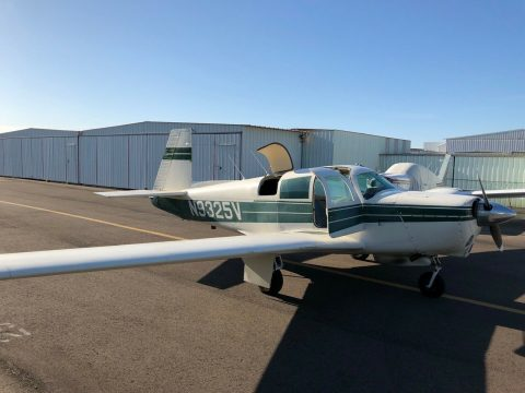 needs paint 1969 Mooney M20C aircraft for sale