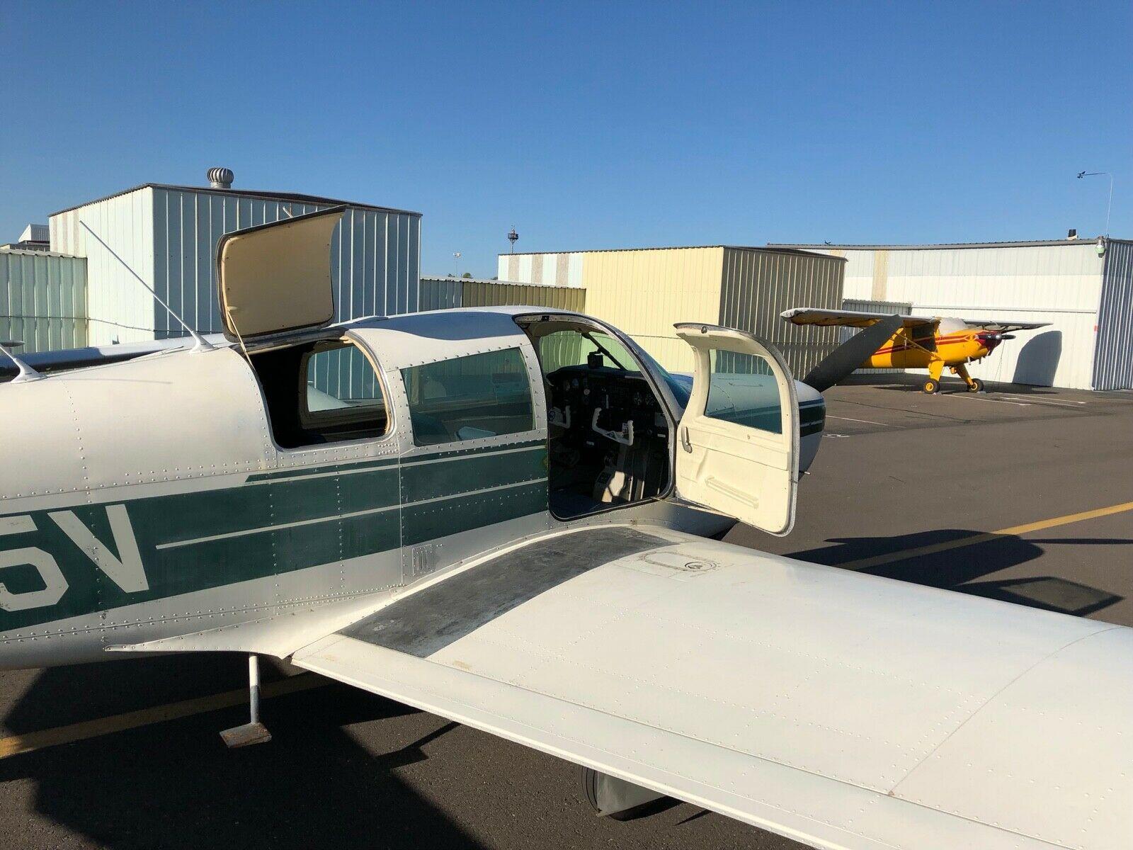 needs paint 1969 Mooney M20C aircraft