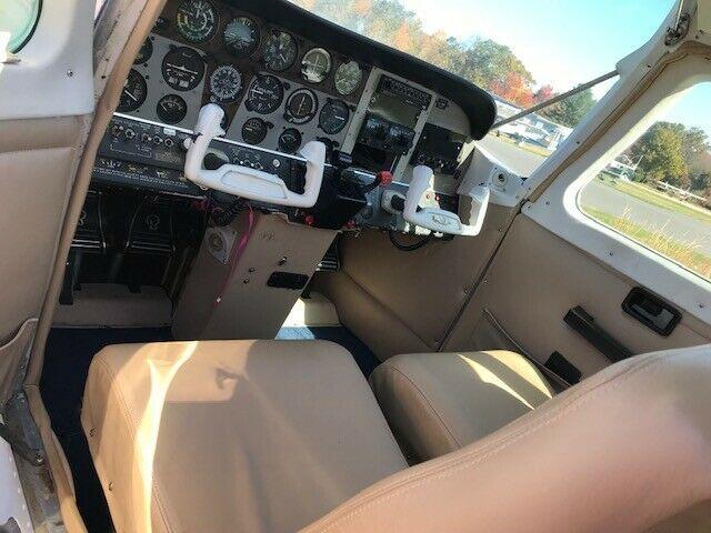 repaired 1975 Beechcraft Sundowner C23 aircraft