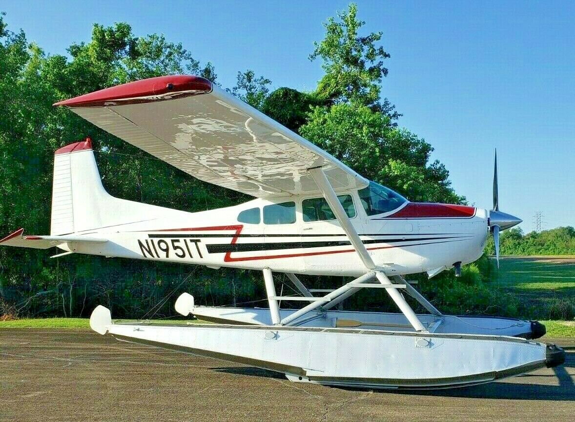 repaired 1980 Cessna A185f Floatplane aircraft for sale