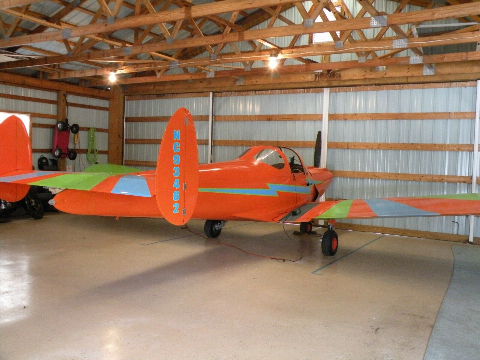 Awesome 1946 Ercoupe 415 C Light Sport AIRCRAFT