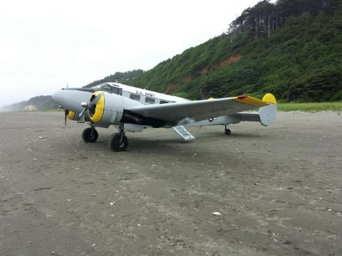 rebuilt 1953 Beechccraft C45H Twin Beech 18 aircraft for sale