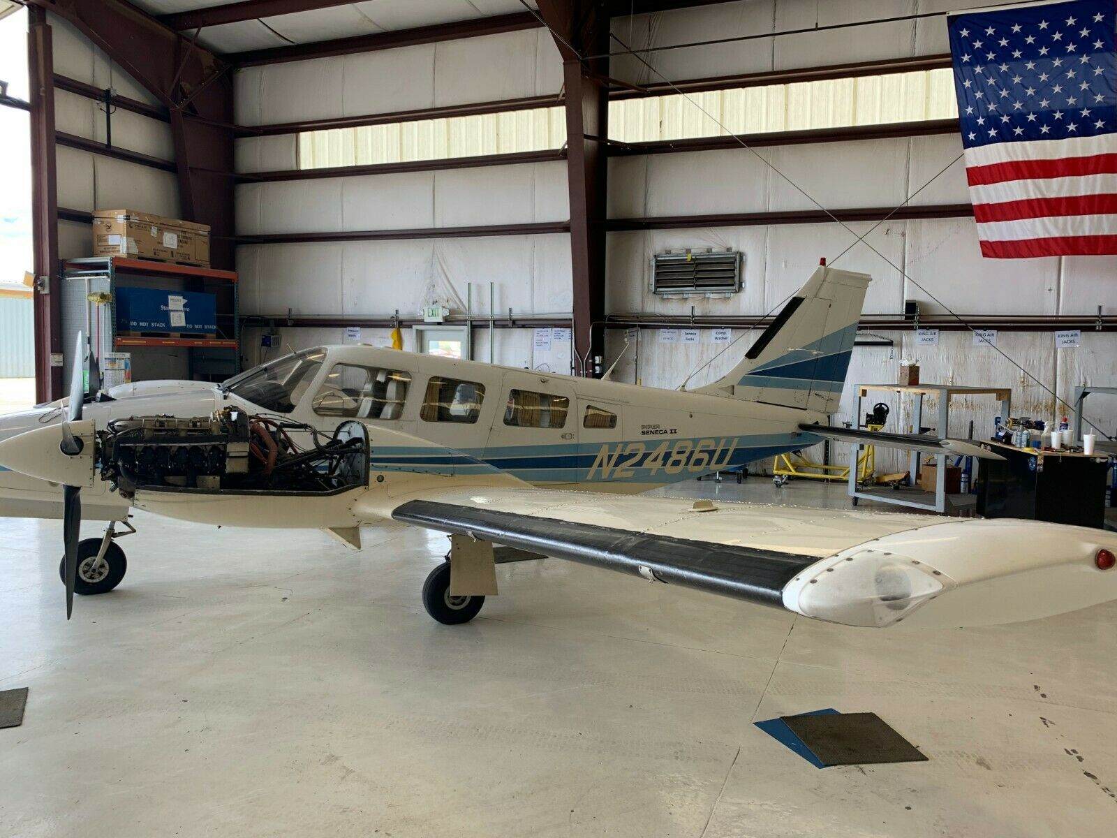 very nice 1979 Piper Seneca II aircraft for sale