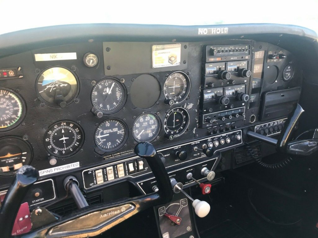 well maintained 1973 Grumman AA aircraft