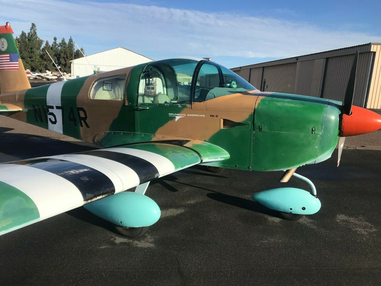 well maintained 1976 Grumman AA1 B aircraft for sale