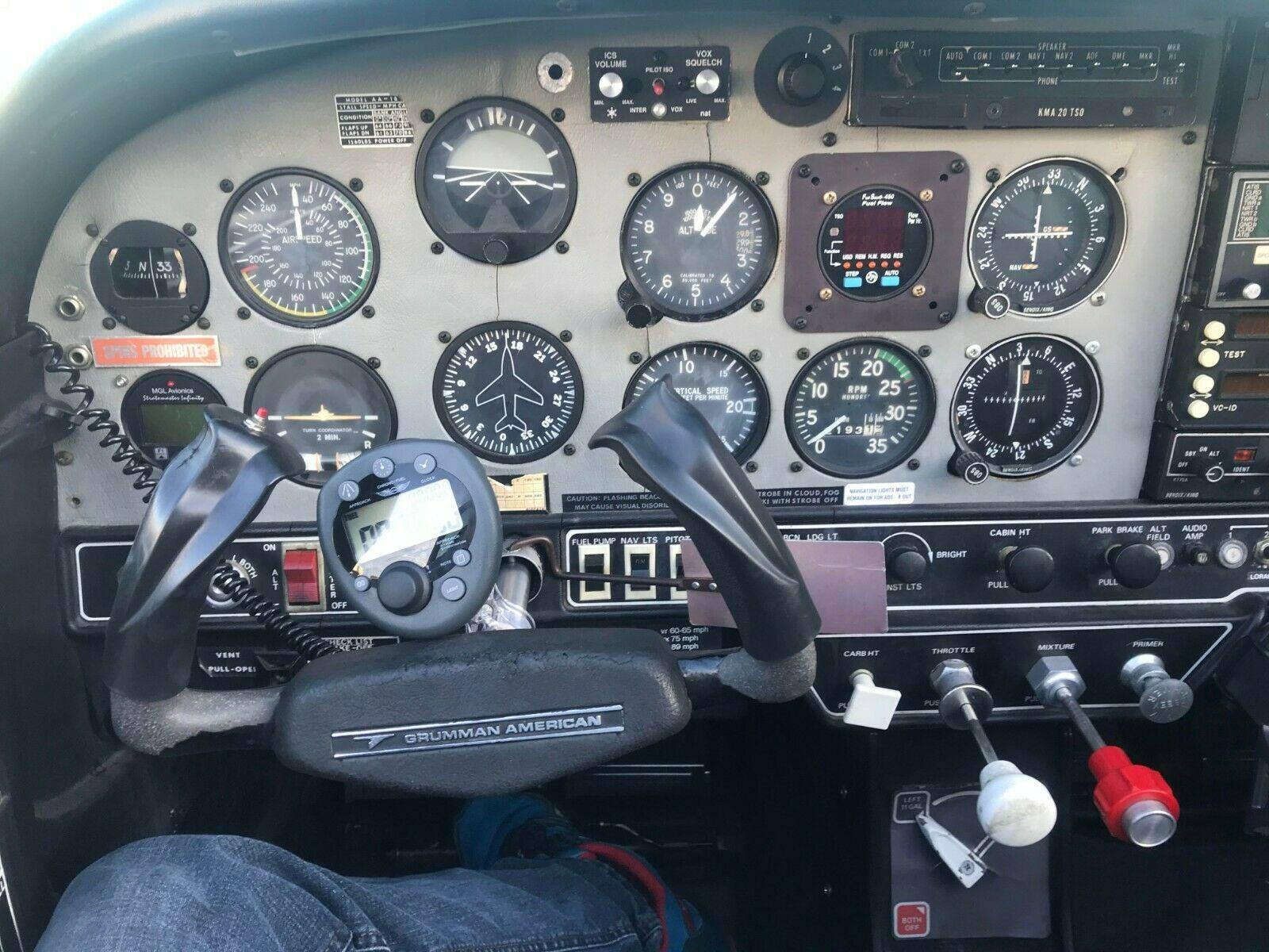well maintained 1976 Grumman AA1 B aircraft