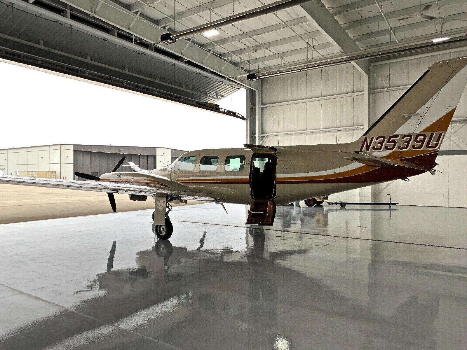 beautiful 1979 Piper Navajo C Model aircraft