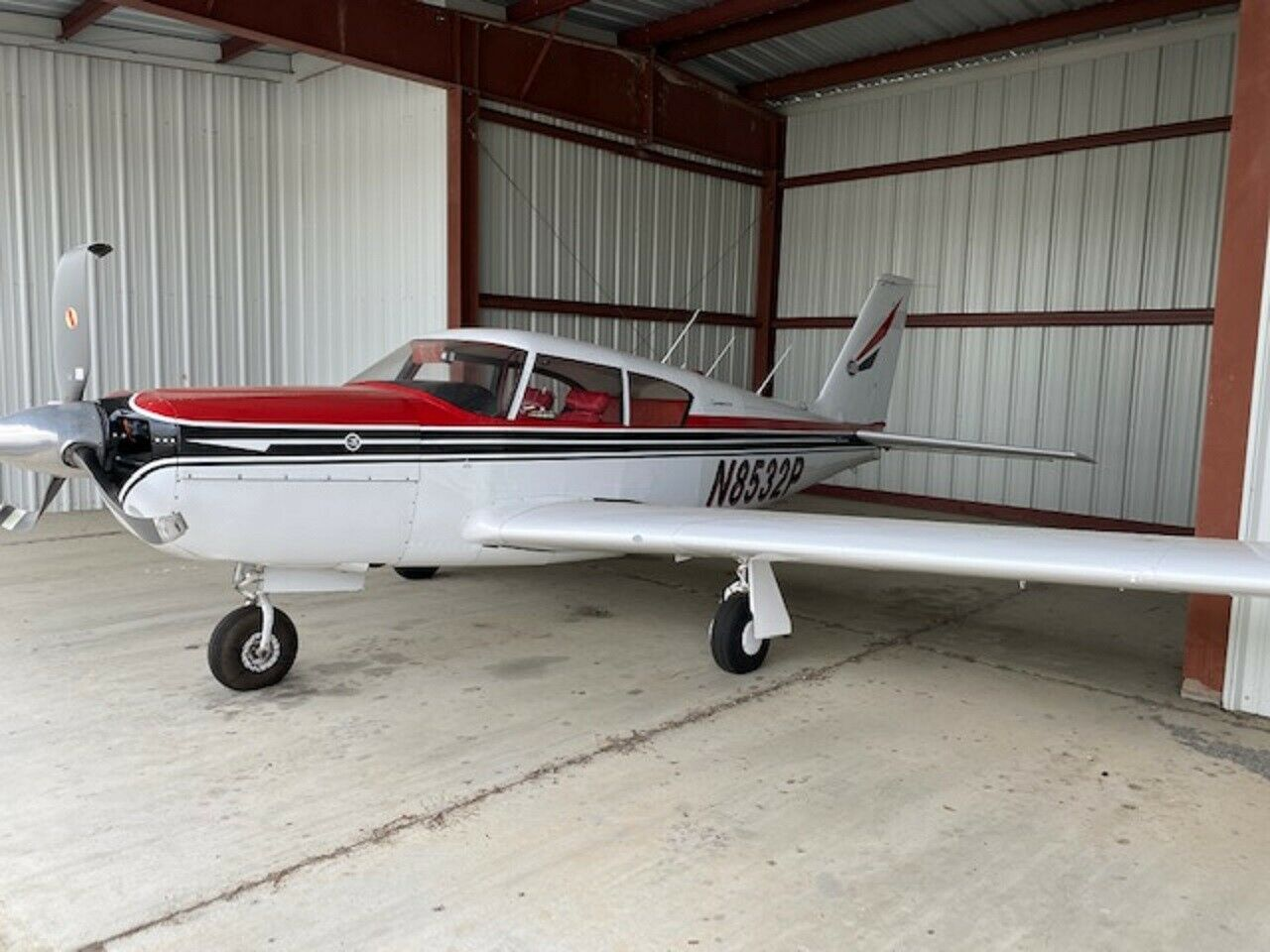 damaged 1965 Piper Comanche 400 aircraft for sale