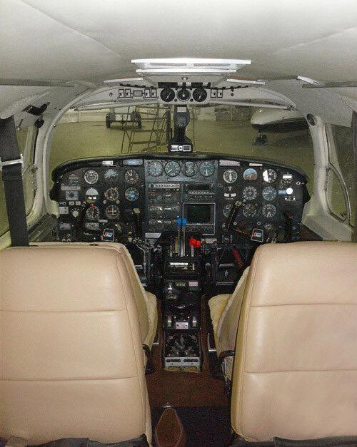 hangared 1976 Piper Navajo Chieftain Twin Aircraft