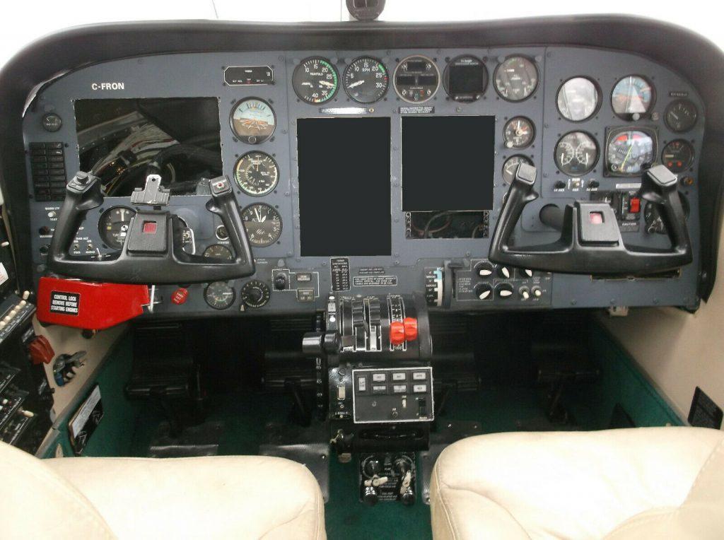 solid 1978 Cessna 340a aircraft