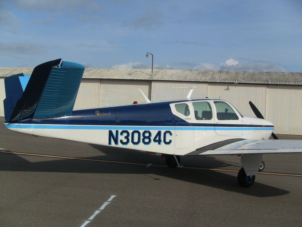 Always Hangared 1959 Beechcraft Bonanza K35 aircraft for sale