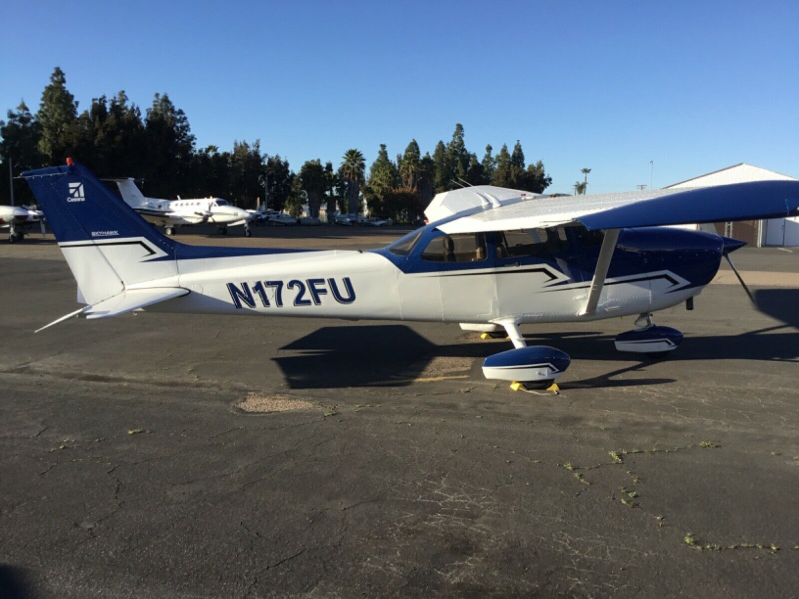 New Paint 2002 Cessna 172r aircraft