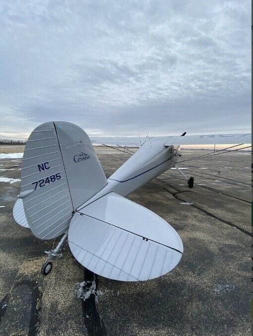 no damage 1946 Cessna 140 aircraft