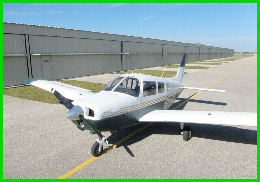 Always Hangared 1974 Piper Warrior 151 aircraft