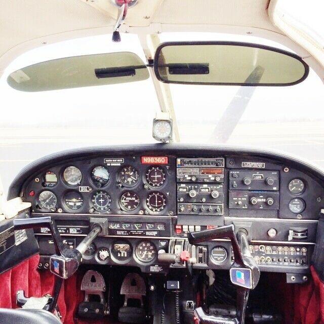 good shape 1969 Piper Cherokee PA 28 140 aircraft