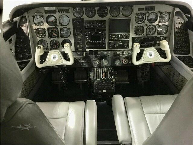 hangared 1973 Beechcraft B60 Duke aircraft