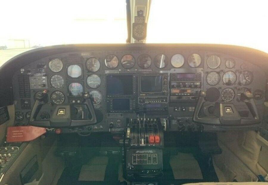 hangared 1978 Cessna 414A aircraft