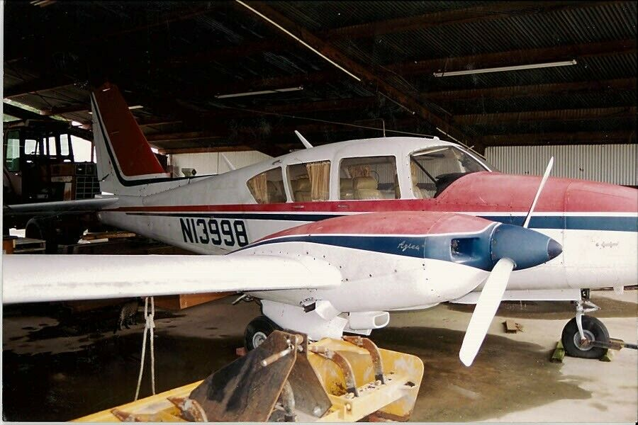 stored inside 1971 Piper Aztec aircraft for sale